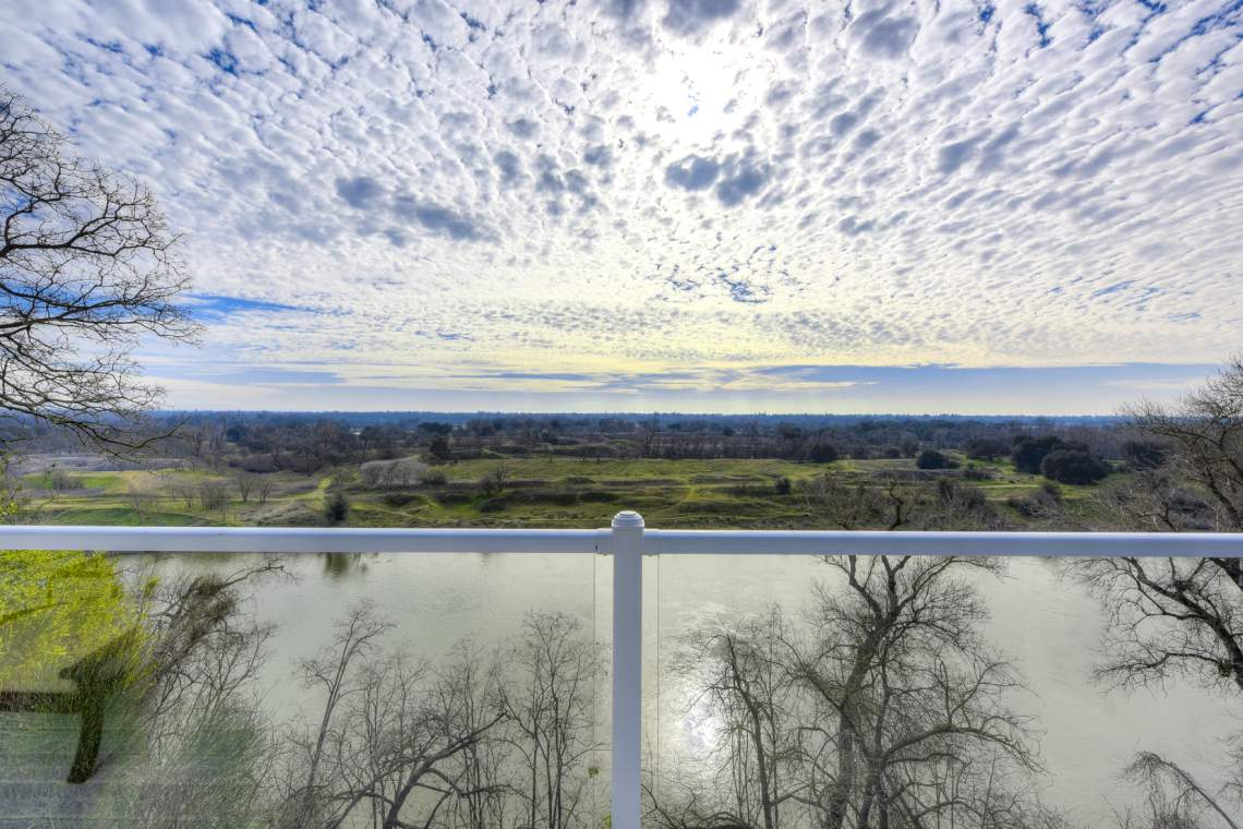 Your View from the Deck | American River Home